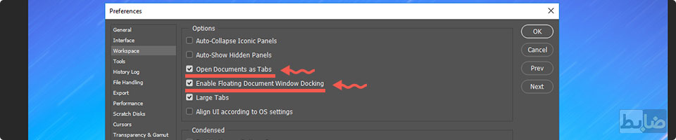 Enable Floating Document Window Docking